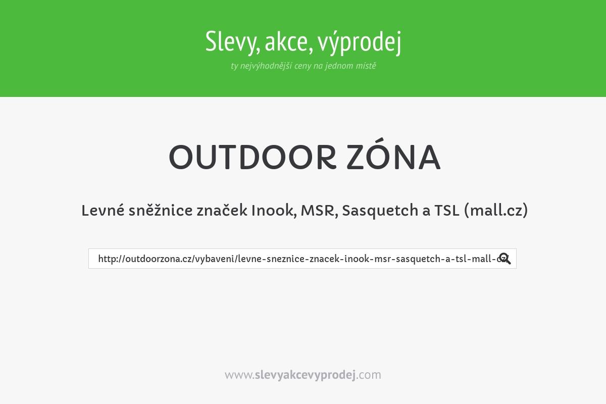 Levné sněžnice značek Inook, MSR, Sasquetch a TSL (mall.cz)