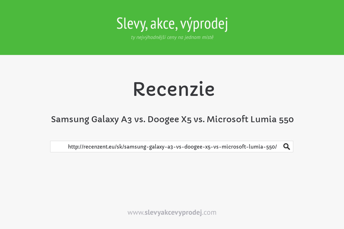 Samsung Galaxy A3 vs. Doogee X5 vs. Microsoft Lumia 550