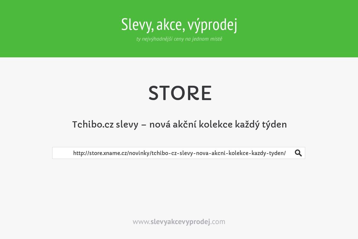 Tchibo.cz slevy – nová akční kolekce každý týden