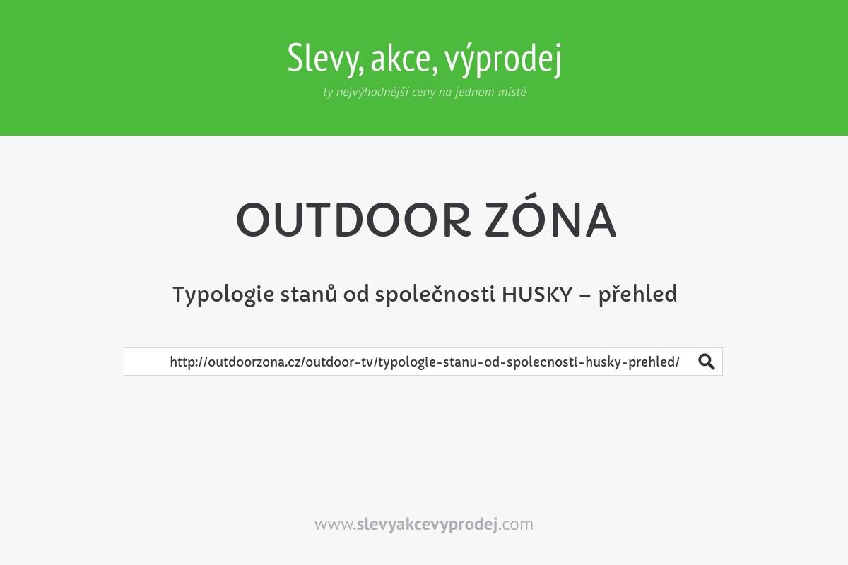 Typologie stanů od společnosti HUSKY – přehled